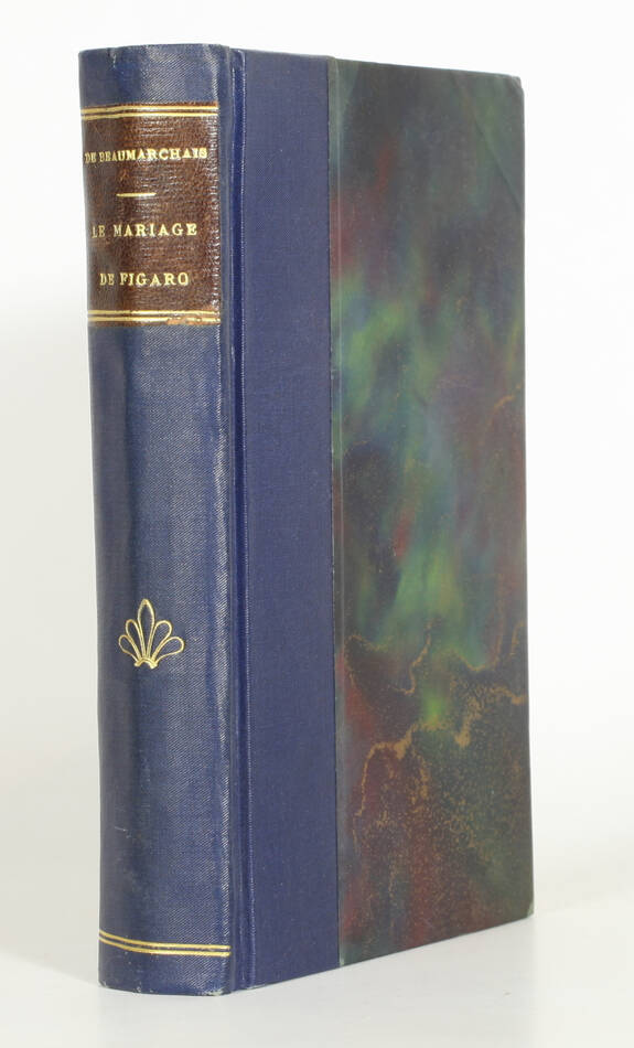 BEAUMARCHAIS - Le mariage de Figaro 1884 - Eaux-fortes de Valton - 1/50 Japon - Photo 1, livre rare du XIXe siècle