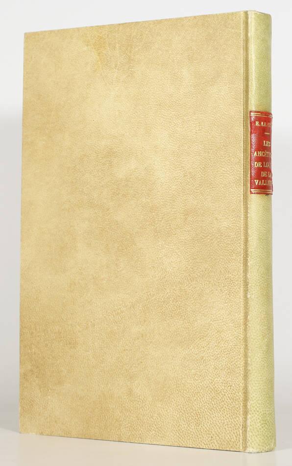 Généalogie de Louise de la Vallière - Maison de la Baume Le Blanc - 1903 - Photo 0, livre rare du XXe siècle