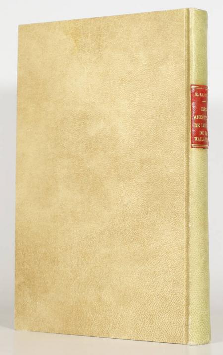 LE BRUN (Eugène). Les ancêtres de Louise de la Vallière. Généalogie de la maison de la Baume Le Blanc d'après des documents inédits, livre rare du XXe siècle