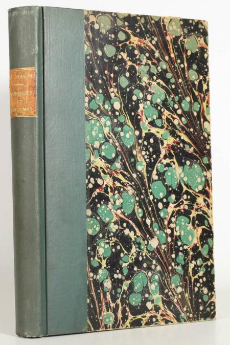 POUGIN (Arthur). Monsigny et son temps. L'opéra-comique et la comédie-italienne. Les auteurs, les compositeurs, les chanteurs, livre rare du XXe siècle