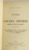 Ernest LAUT - Contes du cousin Zéphir - Moeurs du pays de Hainaut - 1896 - Photo 2, livre rare du XIXe siècle