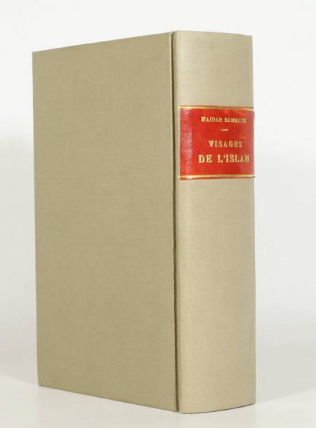HAIDAR BAMMATE [RIVOIRE (Georges)]. Visages de l'Islam, livre rare du XXe siècle