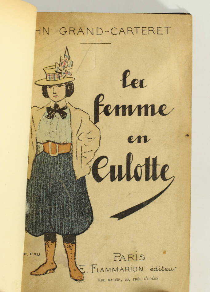 [Mode] John GRAND-CARTERET - La femme en culotte - (1899) - Photo 2, livre rare du XIXe siècle