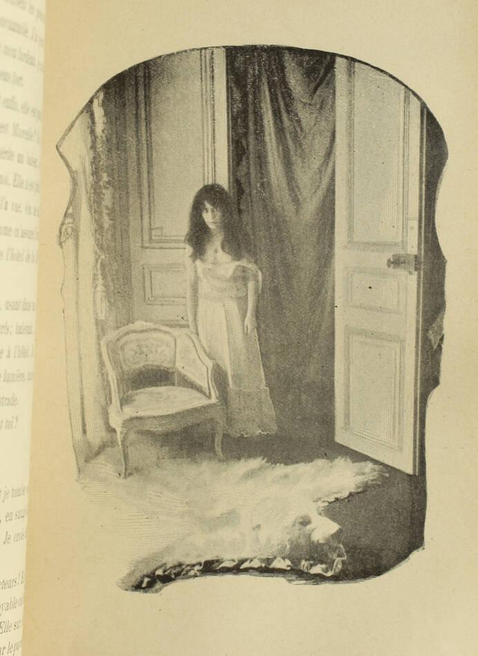SAUSSAY - La suprême étreinte - Roman passionnel 1900 - Illustré d après photos - Photo 0, livre rare du XXe siècle