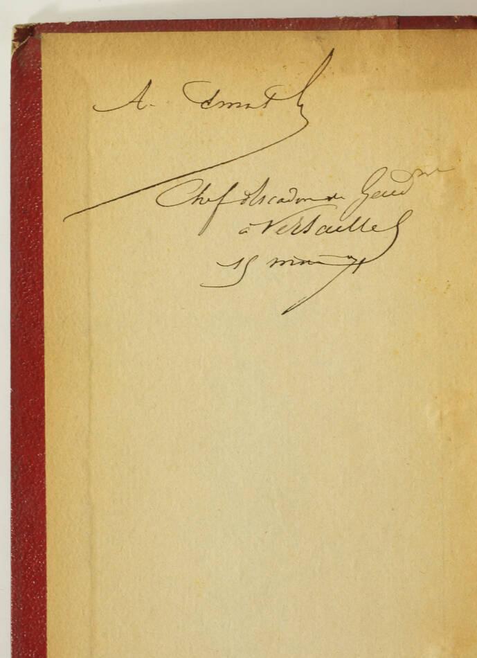 Le siège de Belfort - Guerre de 1870-1871 + Aventures de Cagliostro - 1855 - Photo 1, livre rare du XIXe siècle
