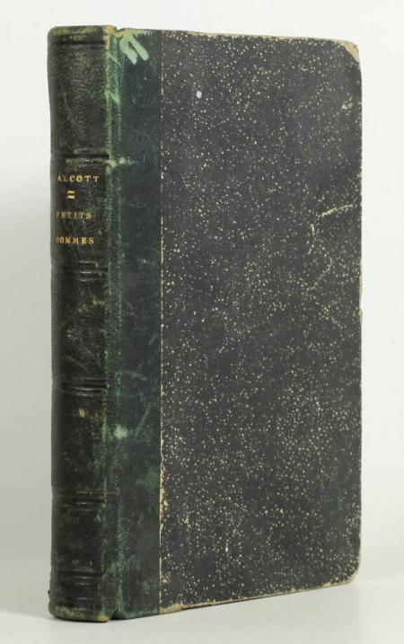 ALCOTT (Louisa May). Petits hommes. Traduit librement de l'anglais par Mme Mignot-Delessert, livre rare du XIXe siècle