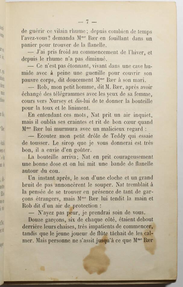ALCOTT - Petits hommes - Traduit de l anglais par Mme Mignot-Delessert - 1877 - Photo 2, livre rare du XIXe siècle