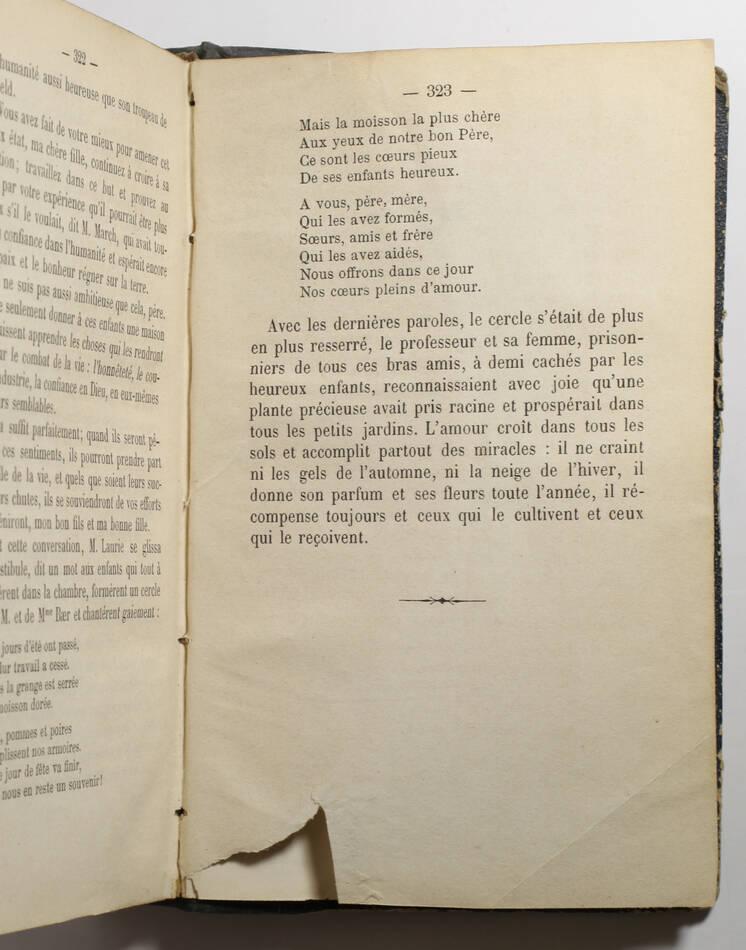 ALCOTT - Petits hommes - Traduit de l anglais par Mme Mignot-Delessert - 1877 - Photo 3, livre rare du XIXe siècle