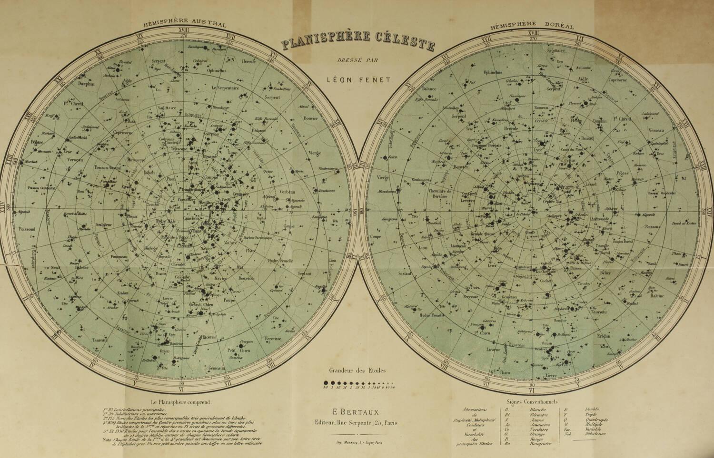 TOWNE - Astronomie, astrophysique, topographie - Bertaux, 1896 - Photo 0, livre rare du XIXe siècle