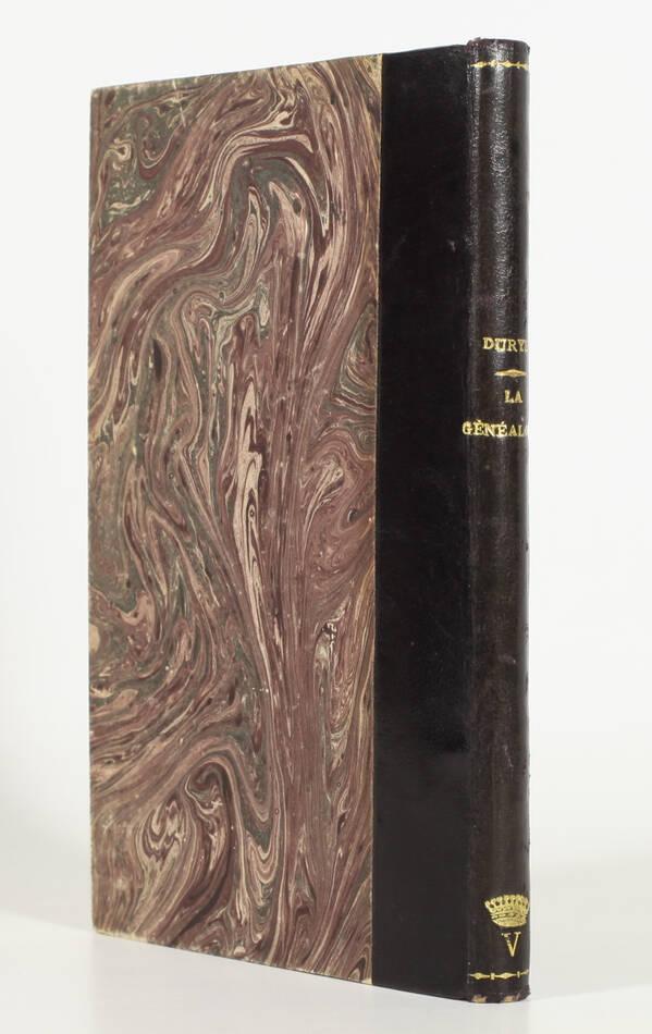 Pierre DURYE - La généalogie - 1961 - EO relié - Photo 0, livre rare du XXe siècle