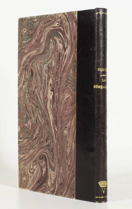 DURYE (Pierre). La généalogie, livre rare du XXe siècle