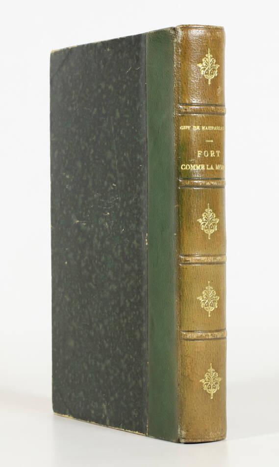 Guy de MAUPASSANT - Fort comme la mort - 1889 - Relié - Photo 0, livre rare du XIXe siècle