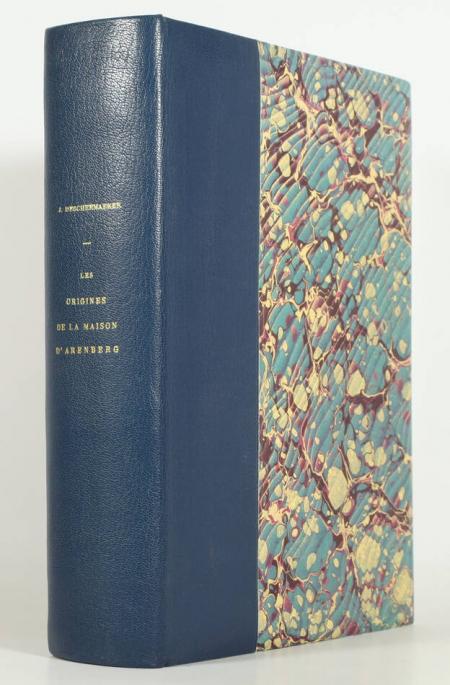 DESCHEEMAEKER (Jacques). Essai sur les origines de la maison d'Arenberg (de la Bourgogne à la Rhénanie, 426-1066), livre rare du XXe siècle