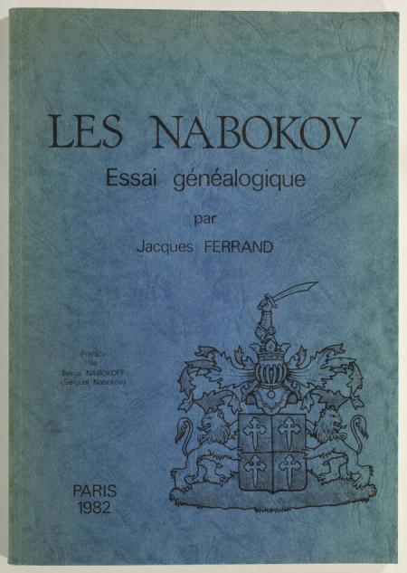 FERRAND (Jacques). Les Nabokov. Essai généalogique, livre rare du XXe siècle