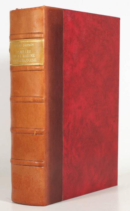 DAUDRUY (Pierre). Familles de la marine dunkerquoise, livre rare du XXe siècle
