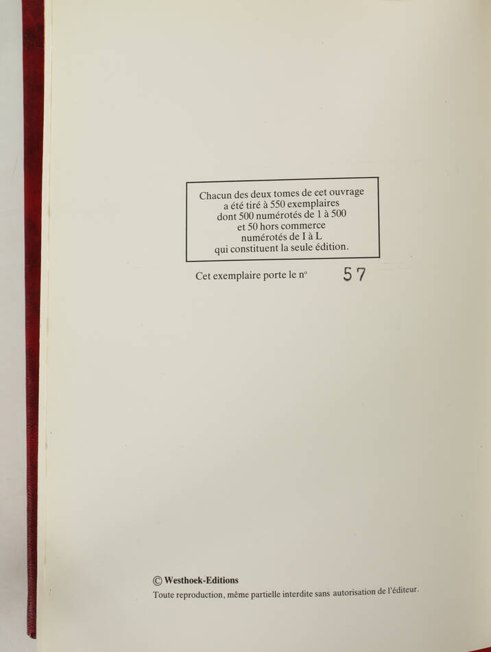 [Boulogne] DAUDRUY - Familles anciennes du Boulonnais - 1983 - Relié - 2 volumes - Photo 1, livre rare du XXe siècle