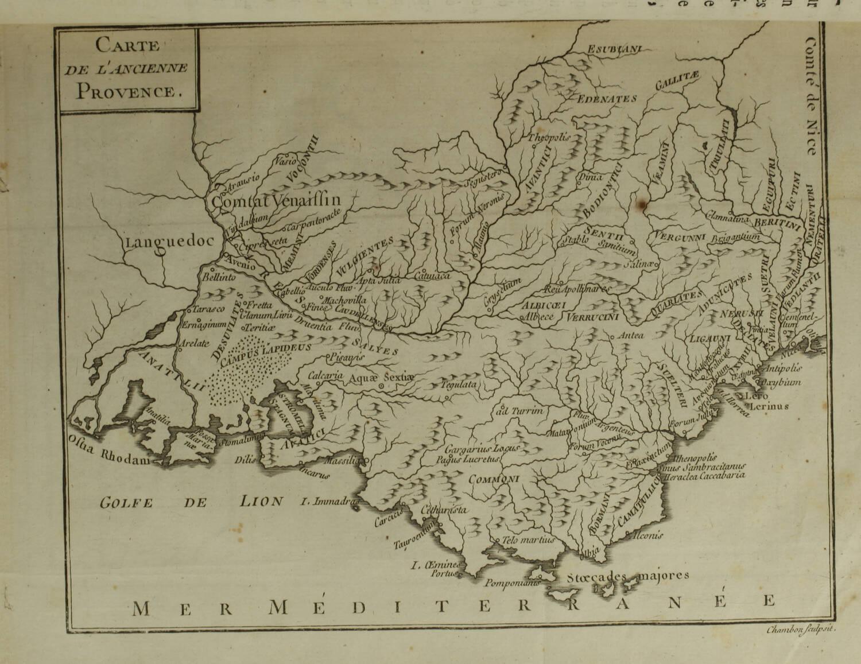 PAPON - Histoire de la Provence - 4 volumes in-quarto - 1777 - Cartes - monnaies - Photo 3, livre ancien du XVIIIe siècle