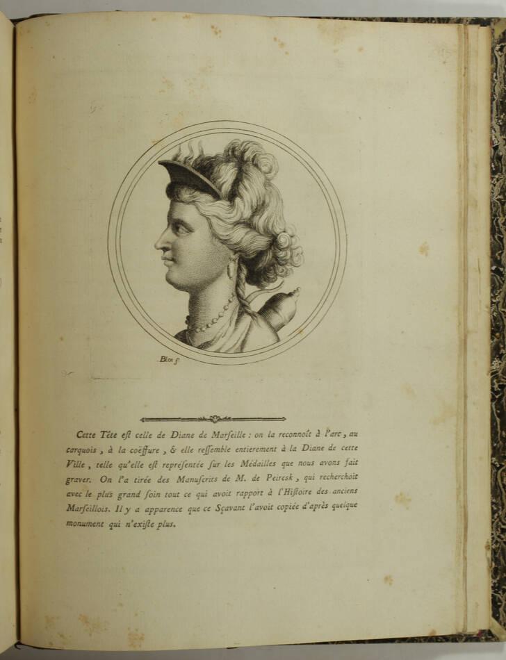 PAPON - Histoire de la Provence - 4 volumes in-quarto - 1777 - Cartes - monnaies - Photo 5, livre ancien du XVIIIe siècle