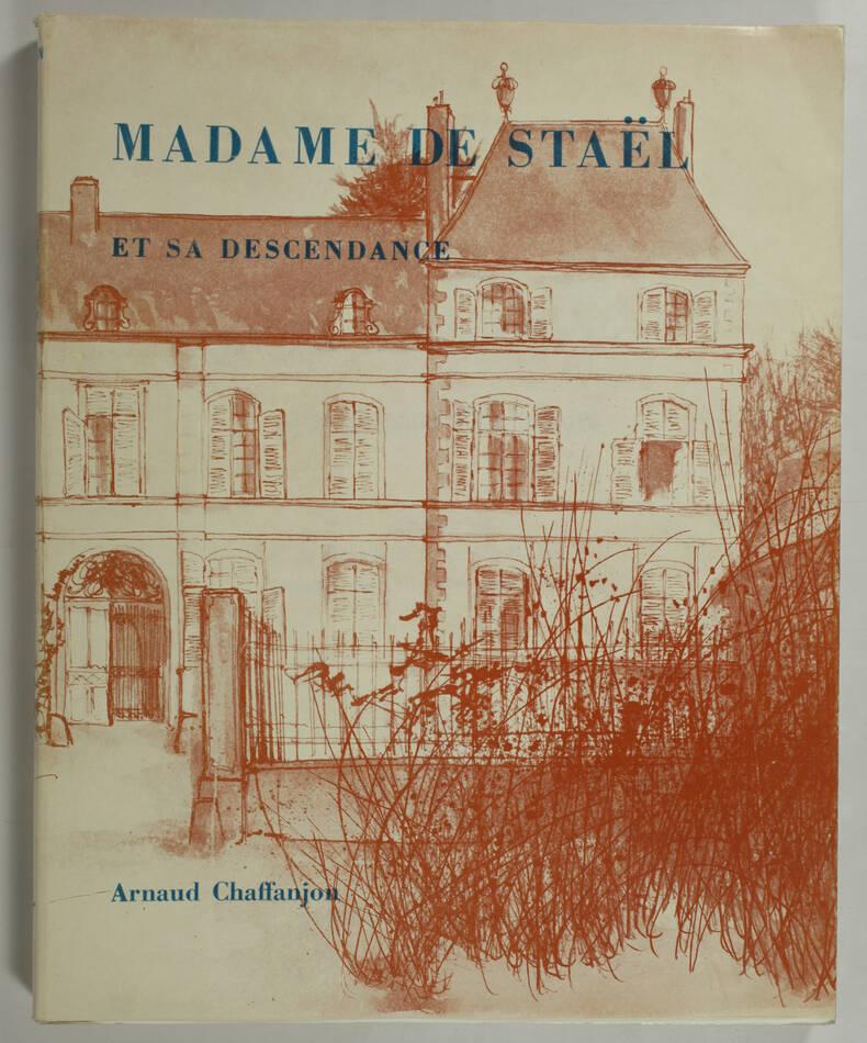 [Généalogie] CHAFFANJON - Madame de Staël et sa descendance - 1969 - Photo 0, livre rare du XXe siècle