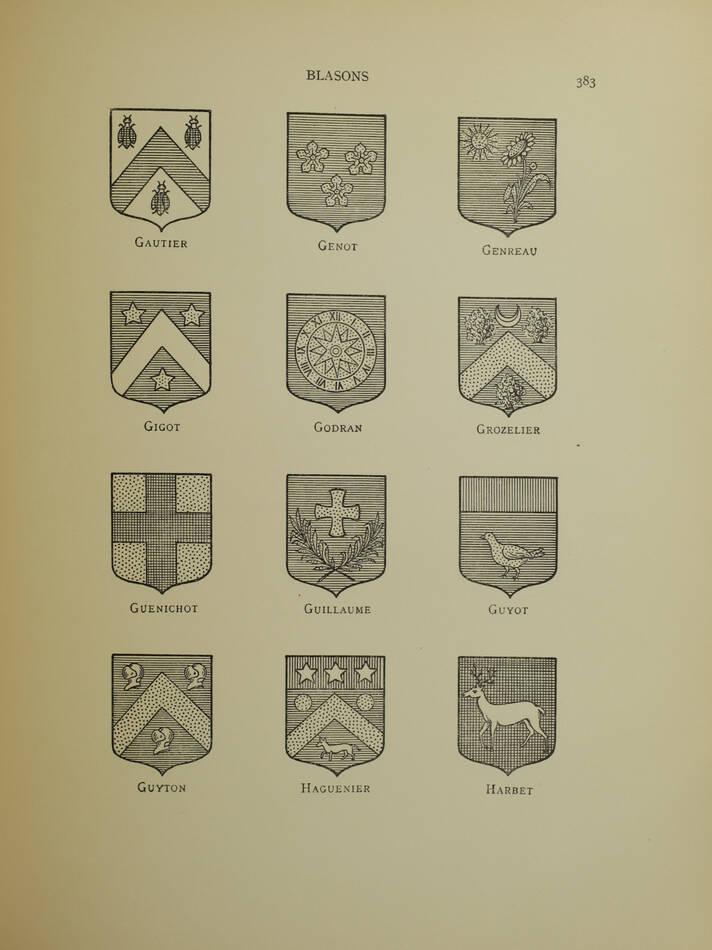 La Chancellerie près le parlement de Bourgogne de 1476 à 1790 - Généalogies - Photo 1, livre rare du XXe siècle