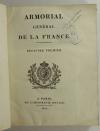 HOZIER - Armorial général de la France - 1821-1823 - 2 volumes, portrait - Rare - Photo 2, livre rare du XIXe siècle