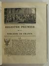HOZIER - Armorial général de la France - 1821-1823 - 2 volumes, portrait - Rare - Photo 3, livre rare du XIXe siècle