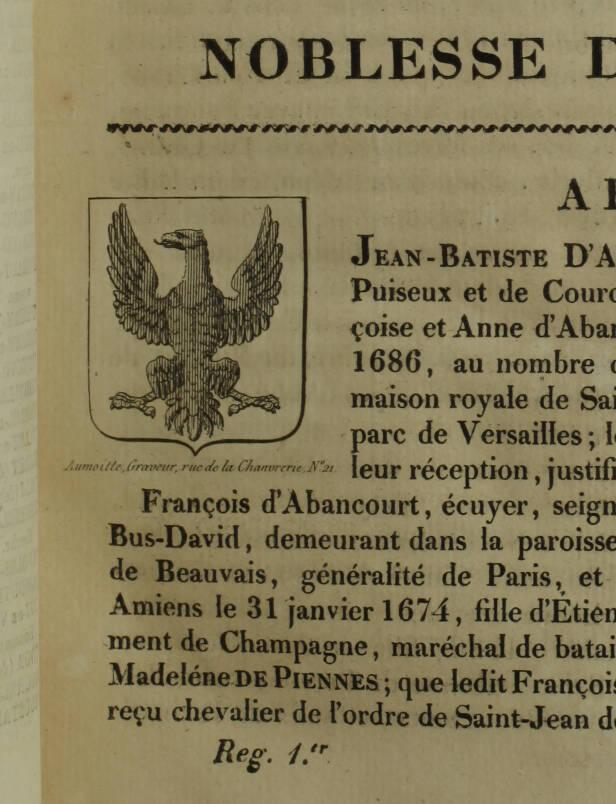 HOZIER - Armorial général de la France - 1821-1823 - 2 volumes, portrait - Rare - Photo 4, livre rare du XIXe siècle