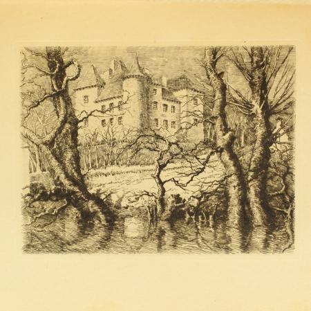 VALADY (Marquis de). Les châteaux de l'ancien Rouergue, livre rare du XXe siècle
