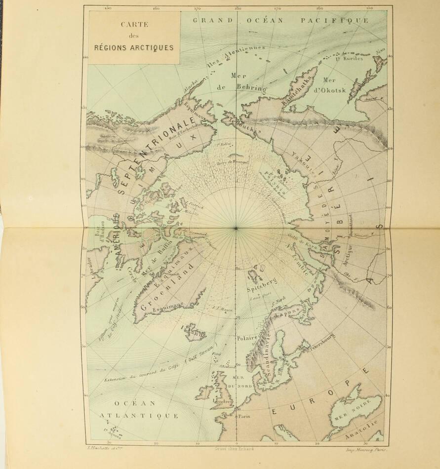 [Pôle nord] HAYES - La mer libre du pôle - 1868 - gravures et 3 cartes - Photo 1, livre rare du XIXe siècle
