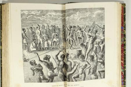 BURDO (Adolphe). Niger et Bénué. Voyage dans l'Afrique centrale, livre rare du XIXe siècle