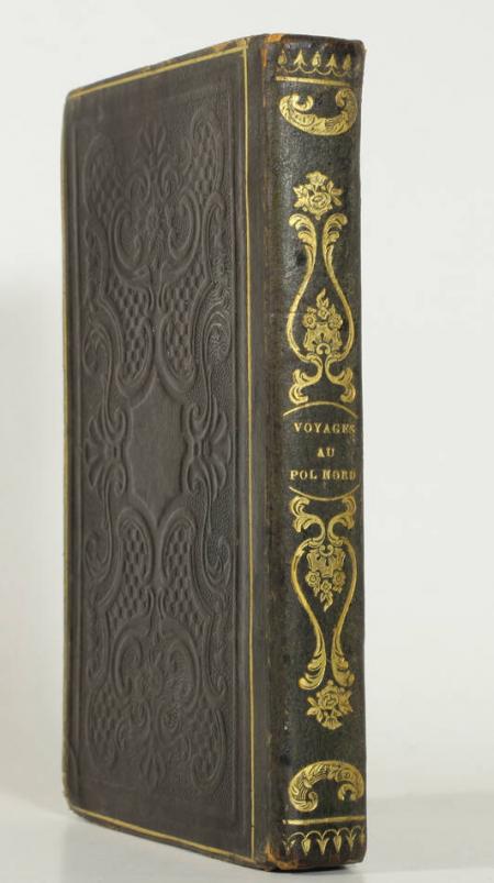 LEBRUN (Henri). Abrégé de tous les voyages au pôle Nord, depuis les frêres Zeni jusqu'à Therouard (1380-1836), livre rare du XIXe siècle