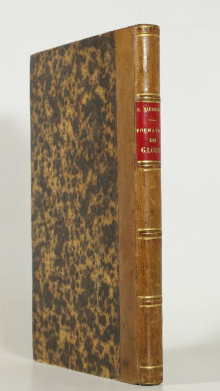 BAUDRIMONT - Théorie de la formation du globe terrrestre - 1867 - Envoi - Photo 0, livre rare du XIXe siècle