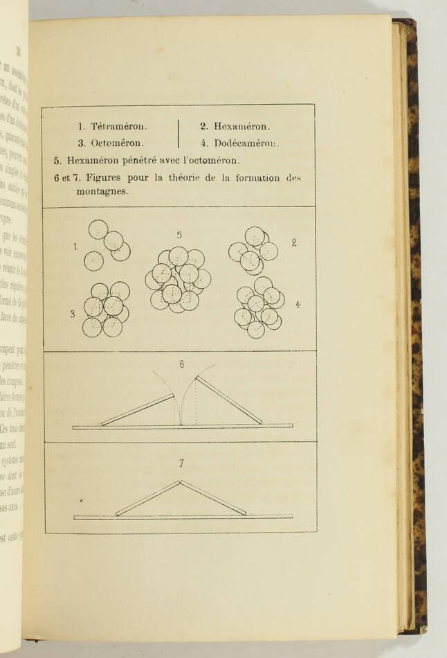 BAUDRIMONT - Théorie de la formation du globe terrrestre - 1867 - Envoi - Photo 2, livre rare du XIXe siècle