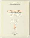 CHAFFANJON (Arnaud). Jean Racine et sa descendance