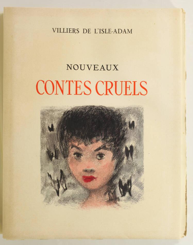 VILLIERS de l ISLE ADAM - Nouveaux contes cruels - 1947 - Ill. par GOERG 1/115 - Photo 2, livre rare du XXe siècle