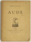 Pierre HUGUENIN - Aude - Alphonse Lemerre - 1895 - Photo 0, livre rare du XIXe siècle