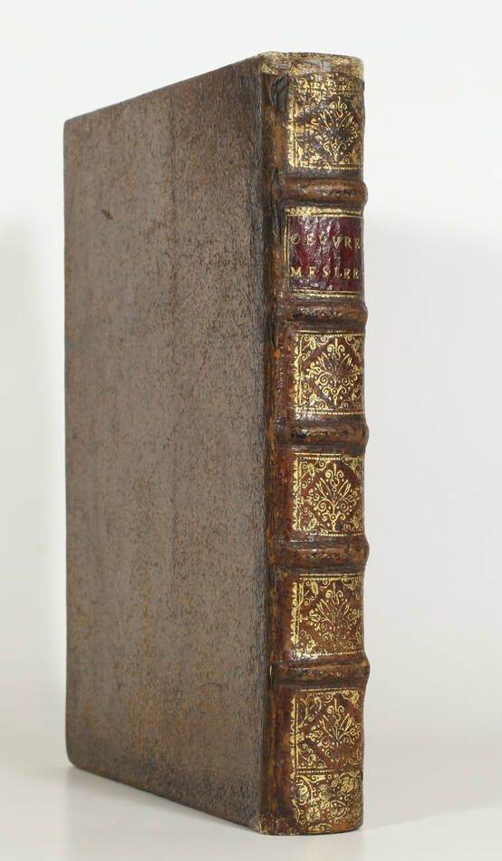 SAINT-EVREMONT - Oeuvres meslées - Claude Barbin, 1690 - In-4 - Photo 0, livre ancien du XVIIe siècle