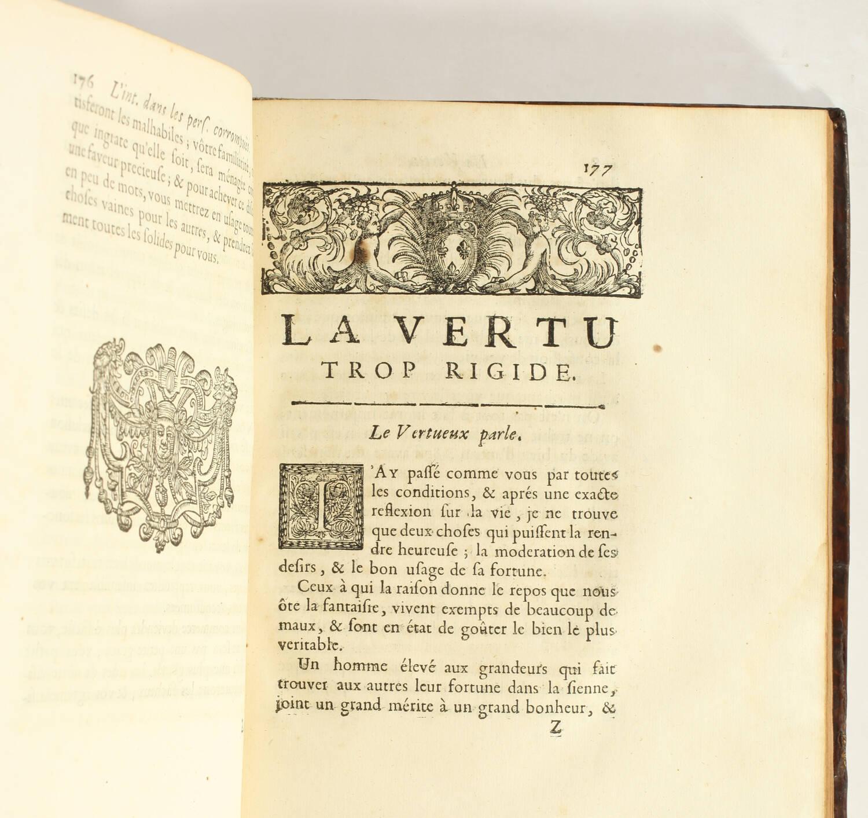 SAINT-EVREMONT - Oeuvres meslées - Claude Barbin, 1690 - In-4 - Photo 3, livre ancien du XVIIe siècle