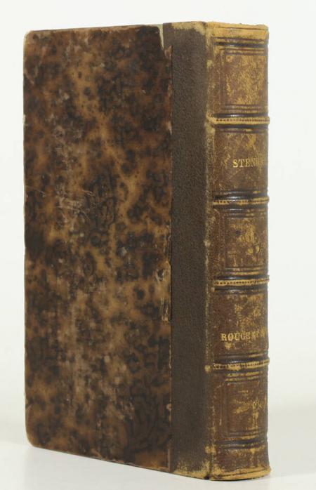 STENDHAL. Le rouge et le noir, livre rare du XIXe siècle