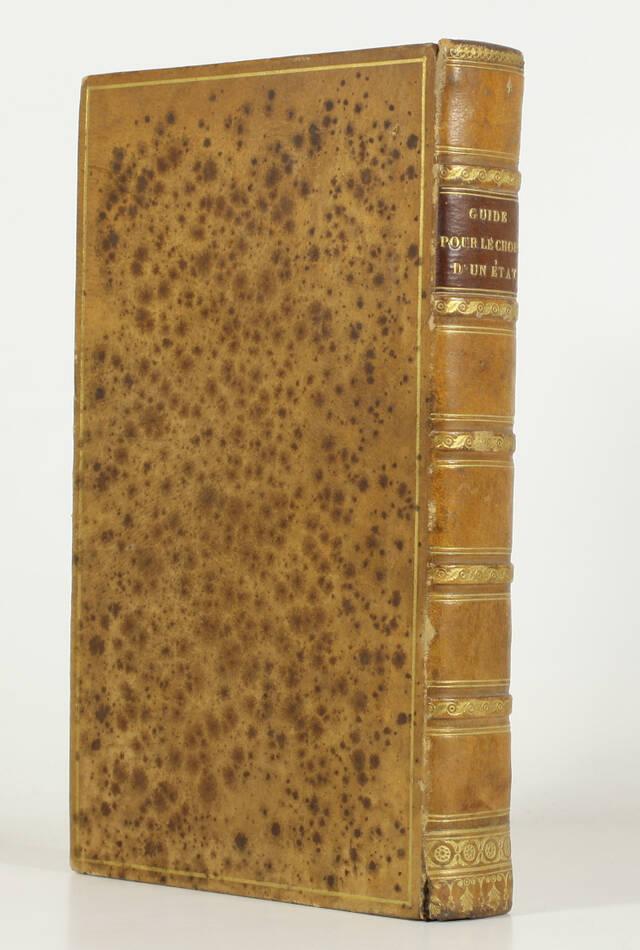 CHARTON - Dictionnaire des professions - 1842 - Ex-libris Visconti di Modrone - Photo 0, livre rare du XIXe siècle