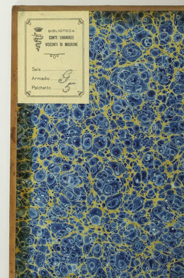 CHARTON - Dictionnaire des professions - 1842 - Ex-libris Visconti di Modrone - Photo 2, livre rare du XIXe siècle