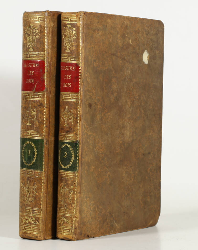 SEGONDAT - Traité général de la mesure des bois - 1782 - 8 planches - Photo 1, livre ancien du XVIIIe siècle