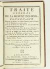 SEGONDAT - Traité général de la mesure des bois - 1782 - 8 planches - Photo 3, livre ancien du XVIIIe siècle
