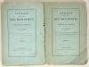LAMBERT (C. - G. - A.). Catalogue descriptif et raisonné des manuscrits de la bibliothèque de Carpentras