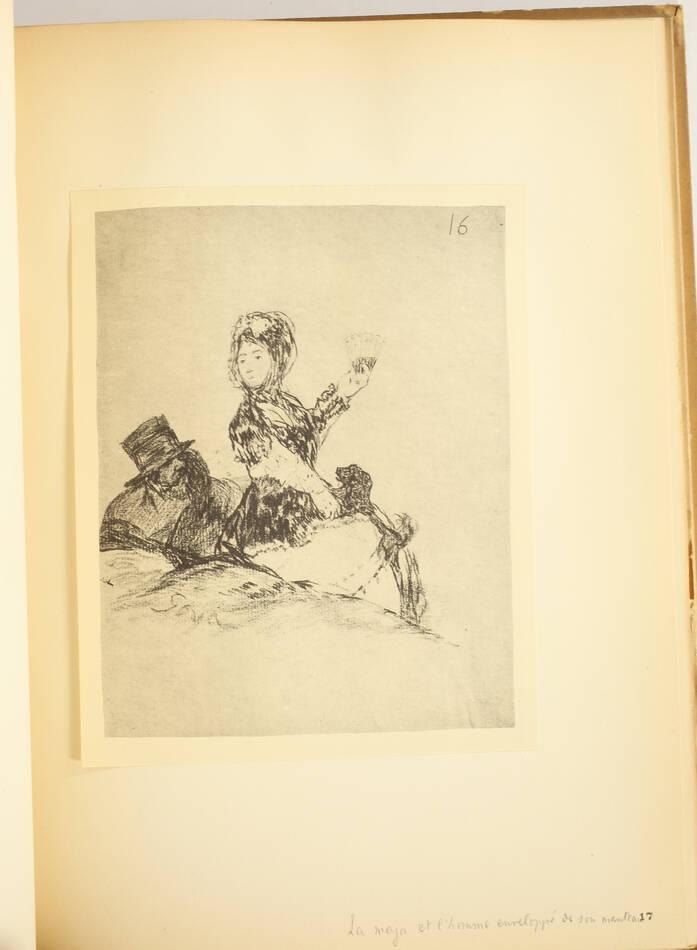 Nouveaux Caprices de Goya - 38 dessins inédits - Paul Lafond - 1907 - Photo 0, livre rare du XXe siècle