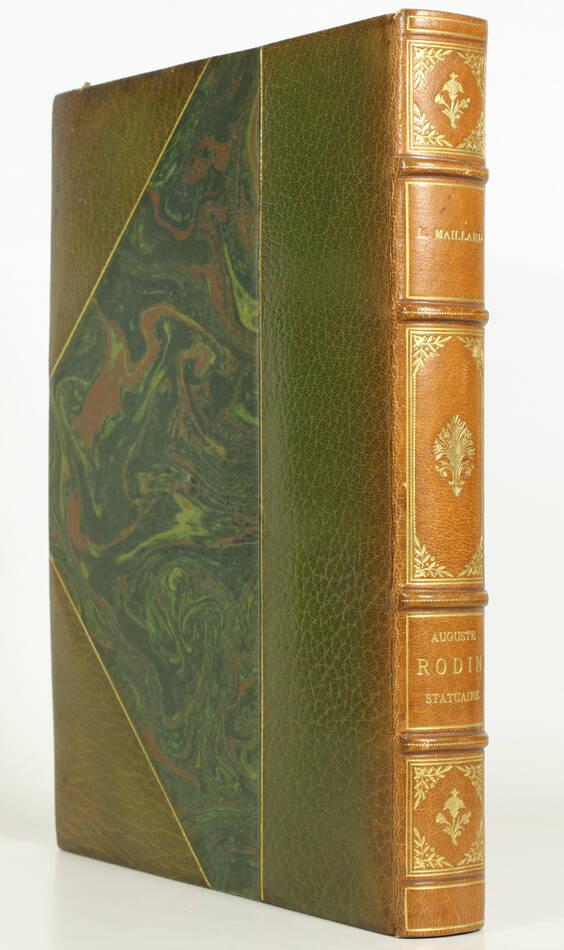 MAILLARD - Auguste Rodin Statuaire 1899 - Pointe sèche - Reliure signée Durvand - Photo 1, livre rare du XIXe siècle