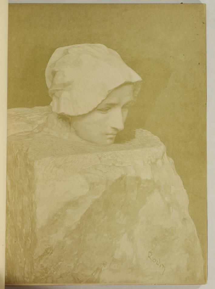 MAILLARD - Auguste Rodin Statuaire 1899 - Pointe sèche - Reliure signée Durvand - Photo 3, livre rare du XIXe siècle