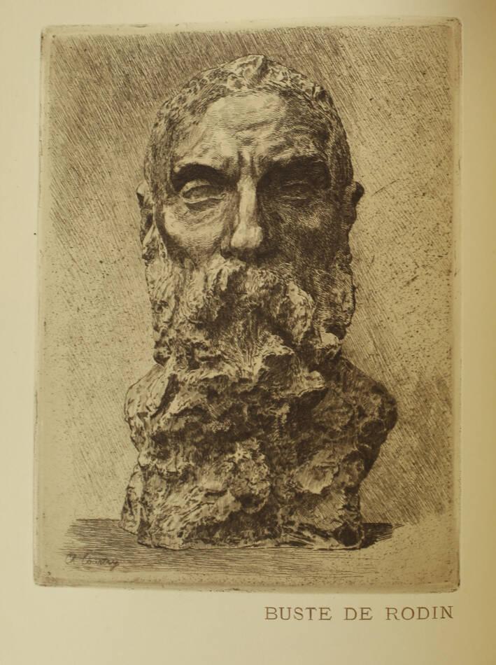 MAILLARD - Auguste Rodin Statuaire 1899 - Pointe sèche - Reliure signée Durvand - Photo 4, livre rare du XIXe siècle