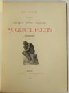 MAILLARD - Auguste Rodin Statuaire 1899 - Pointe sèche - Reliure signée Durvand - Photo 6, livre rare du XIXe siècle
