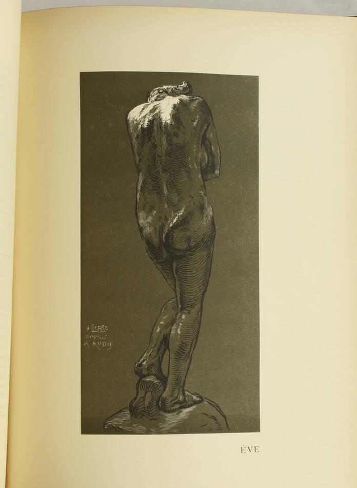 MAILLARD - Auguste Rodin Statuaire 1899 - Pointe sèche - Reliure signée Durvand - Photo 7, livre rare du XIXe siècle
